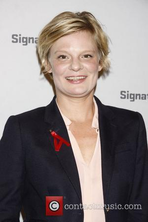 Martha Plimpton  After party for the opening night of 'Kenneth Lonergan's Medieval Play' at the Signature Theatre New York...