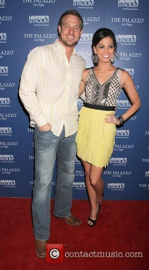 Melissa Rycroft and Tye Strickland host a fan party at Lagasse's Stadium at The Palazzo Resort Casino. Las Vegas, Nevada...