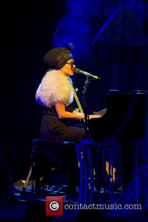 Melody Gardot  performing live in concert at Lisebergshallen  Gothenburg, Sweden 04.12.12