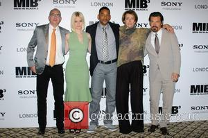Barry Sonnenfeld, Alice Eve, Emma Thompson, Josh Brolin and Will Smith