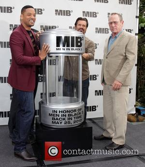 Will Smith, Josh Brolin, and Tommy Lee Jones 'Men In Black 3' Photocall in Beverly Hills Los Angeles, California -...