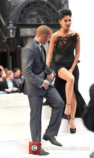 Lewis Hamilton and Nicole Scherzinger Men in Black 3 - UK film premiere held at the Odeon Leicester Square -...