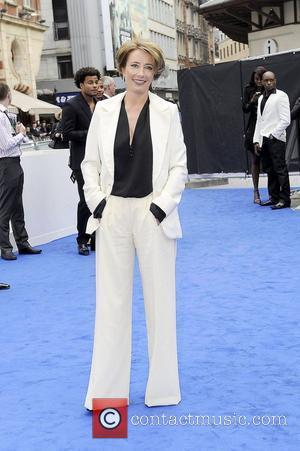 Emma Thompson,  Men in Black 3 - UK film premiere held at the Odeon Leicester Square - Arrivals. London,...