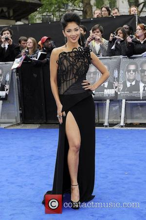 Nicole Scherzinger and Odeon Leicester Square