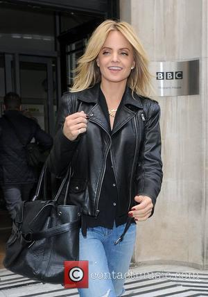 Mena Suvari leaving the BBC Radio 2 Studios after promoting her new movie 'The Knot' London, England - 04.10.12