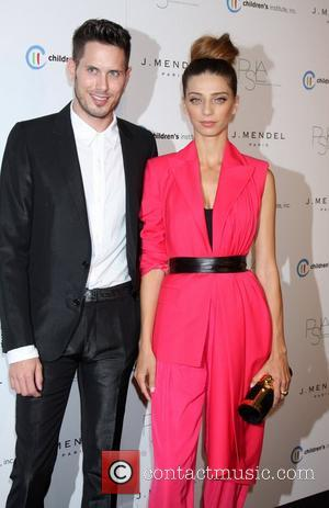 Angela Sarafyan arrives at the 3rd Annual Autumn Party with designer J Mendel at The London  West Hollywood, USA...