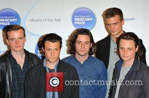 The Maccabees,  at the Barclaycard Mercury Music Prize albums of the Year nominations 2012 held at the Hospital club....
