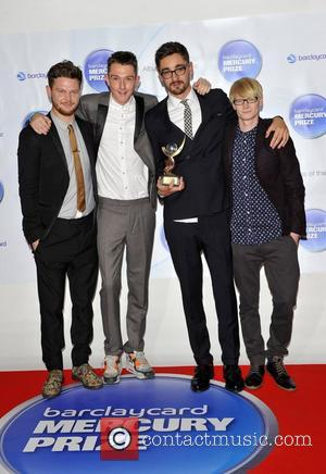 Award winners, Alt J Barclaycard Mercury Music Prize held at the Roundhouse - Press Room London, England - 01.11.12
