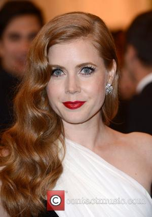 Amy Adams and Metropolitan Museum Of Art