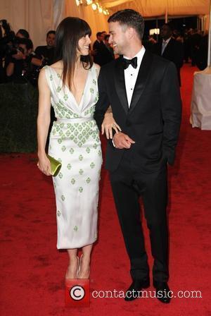 Jessica Biel, Justin Timberlake and Metropolitan Museum Of Art