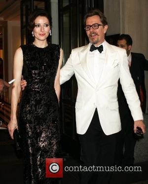 Gary Oldman and Alexandra Edenborough  attend the after party for the 'Schiaparelli and Prada: Impossible Conversations' Costume Institute exhibition...