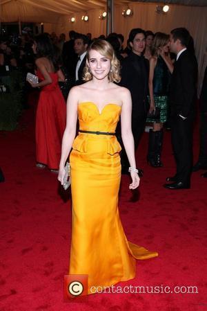 Emma Roberts and Metropolitan Museum Of Art