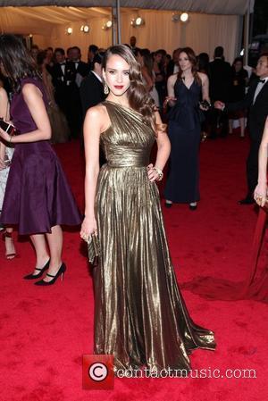 Jessica Alba and Metropolitan Museum Of Art