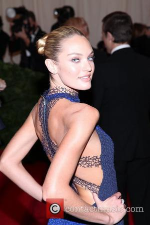 Candice Swanepoel and Metropolitan Museum Of Art