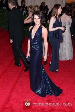 Lea Michele and Metropolitan Museum Of Art