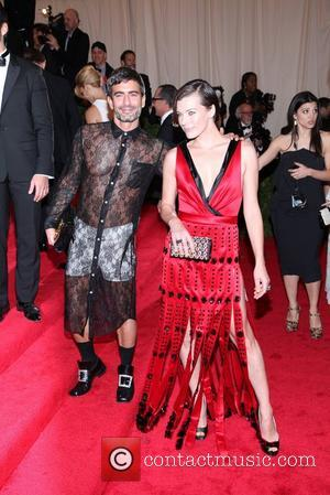 Milla Jovovich, Marc Jacobs and Metropolitan Museum Of Art