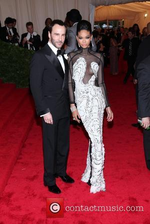 Tom Ford, Chanel Iman and Metropolitan Museum Of Art