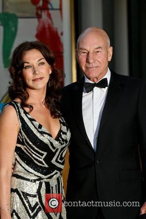 Patrick Stewart and Guest
