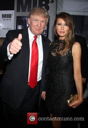 Donald Trump and Melania Trump 'Men in Black III' New York Premiere, held at the Ziegfeld Theater - Arrivals New...