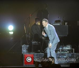 Michael Buble and Ahoy Stadium