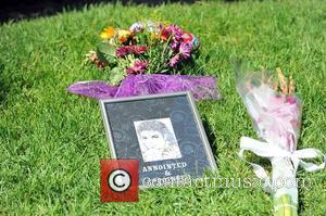 Fans visit Michael Jackson's tomb at Forest...