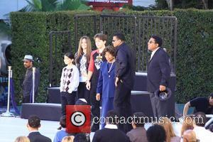 Prince Jackson, Paris Jackson, Blanket Jackson, Katherine Jackson, Tito Jackson  Michael Jackson's family and children immortalized their late father...