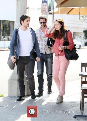 Michelle Monaghan and her husband Peter White leaving The Kings Road Cafe after having lunch Los Angeles, California - 05.04.12