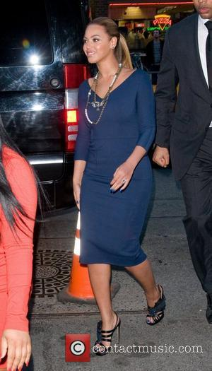 Beyonce Knowles and Georgina Chapman