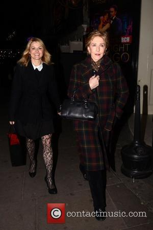 Patricia Hodge And Sarah Hadland Midnight Tango - Celebrity Gala held at the Aldwych Theatre - Departures London, England -...