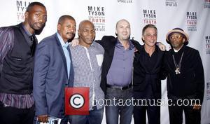 Leon Robinson, Celebration, Mike Tyson, Robert Townsend, Spike Lee and Tony Danza