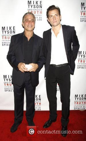 Tony Danza and Peter Cincotti Broadway opening night of 'Mike Tyson: The Undisputed Truth' at the Longacre Theatre – Arrivals....
