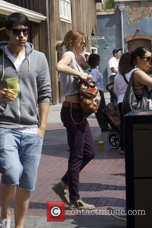 Miley Cyrus and Disneyland