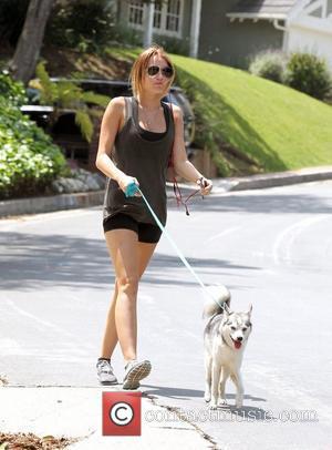Miley Cyrus and Husky