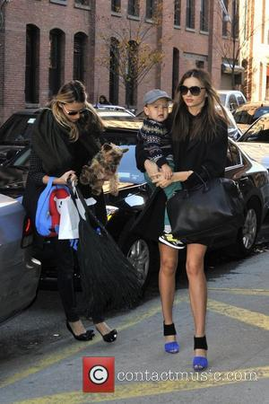 Miranda Kerr, Flynn and Manhattan