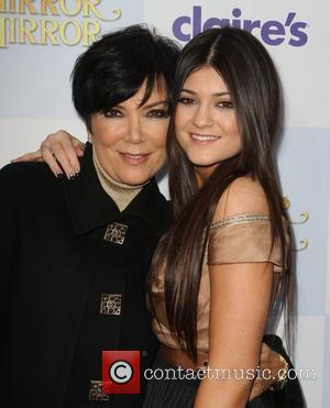 Kris Jenner, Kylie Jenner and Grauman's Chinese Theatre