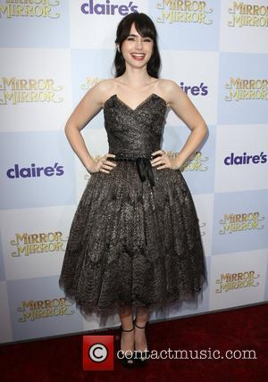 Lily Collins and Grauman's Chinese Theatre