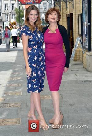 Mischa Barton and Anne Charleston