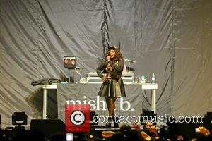 Misha B  Supporting Nicki Minaj performing on stage the Capital FM Arena during her Pink Friday: Reloaded Tour 2012...