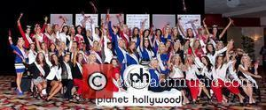 2012 Miss America Pageant Contestants arrive at Planet Hollywood Resort and Casino Las Vegas, NV - 05.01.12