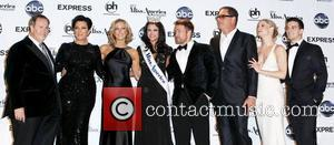 Raul De Molina, Kris Jenner, Lara Spencer, Mark Ballas, Mike Fleiss, Miss America, Teri Polo and Planet Hollywood