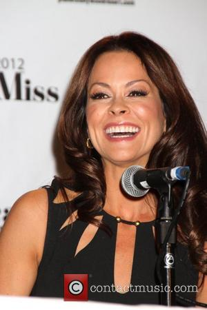 Brooke Burke-Charvet 2012 Miss America Pageant Co Hosts Press Conference at Planet Hollywood Resort and Casino  Las Vegas, Nevada...