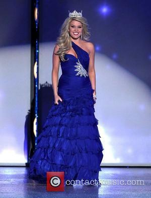 2011 Miss America Teresa Scanlan 2012 Miss America Pageant Preliminary Day 3 at Theatre of Performing Arts at Planet Hollywood...