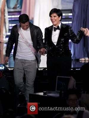 Mark Ballas, Kris Jenner and Planet Hollywood