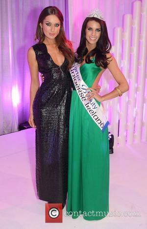Rozanna Purcell, Adrienne Murphy and Miss Universe Ireland