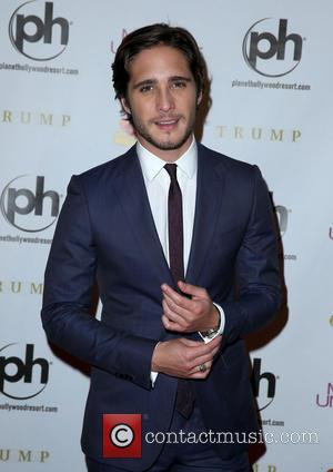 Diego Boneta and Planet Hollywood