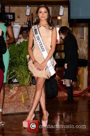 Miss Universe Olivia Culpo  Donald Trump crowns New Miss USA at Trump Tower, New York City  Featuring: Miss...