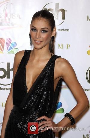 Dayana Mendoza 2012 Miss USA Pageant at Planet Hollywood Resort and Casino - Red Carpet. Las Vegas, Nevada -03.06.12