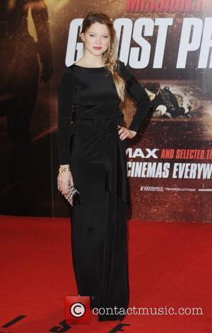 Lea Seydoux at the premiere of Mission: Impossible Ghost Protocol at BFI Imax, London, England- 13.12.11