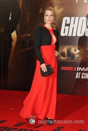 Gillian Anderson Mission: Impossible - Ghost Protocol premiere - Arrivals London, England - 13.12.11
