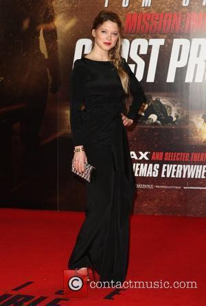 Lea Seydoux Mission: Impossible Ghost protocol premiere - Arrivals London, England - 13.12.11